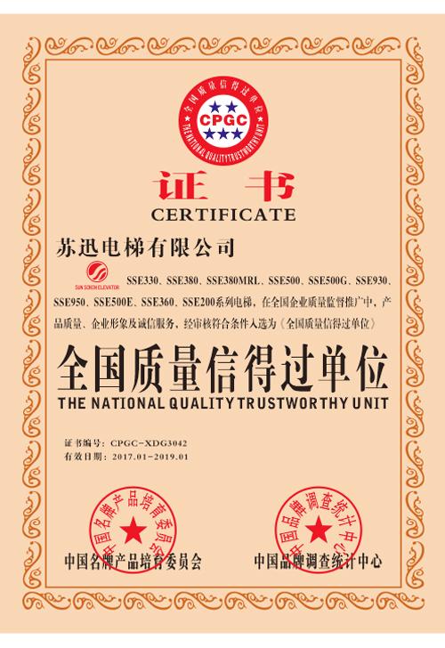 The national quality trustworthy unit