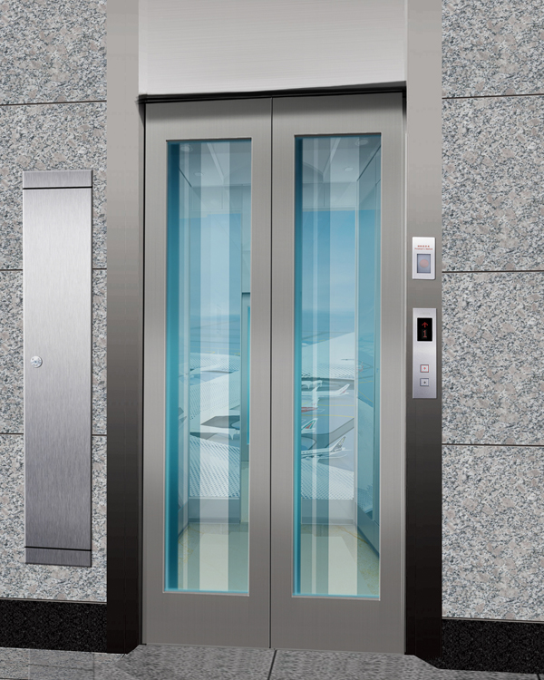Machine Roomless Sightseeing Elevator
