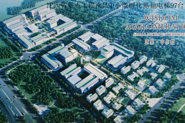 Jiangxi Province key projects Nanchang small incubator base elevator 97 sets