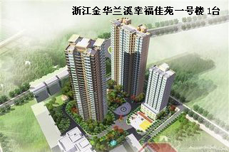 Zhejiang Jinhua Lanxi Happy Jiayuan Building 1 set SSE500
