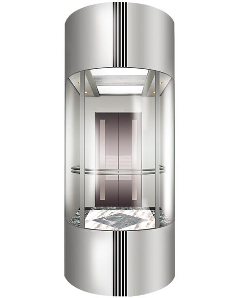 Panoramic Elevator  Car Decoration SSE-G002