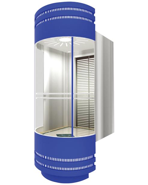 Panoramic Elevator  Car Decoration SSE-G003