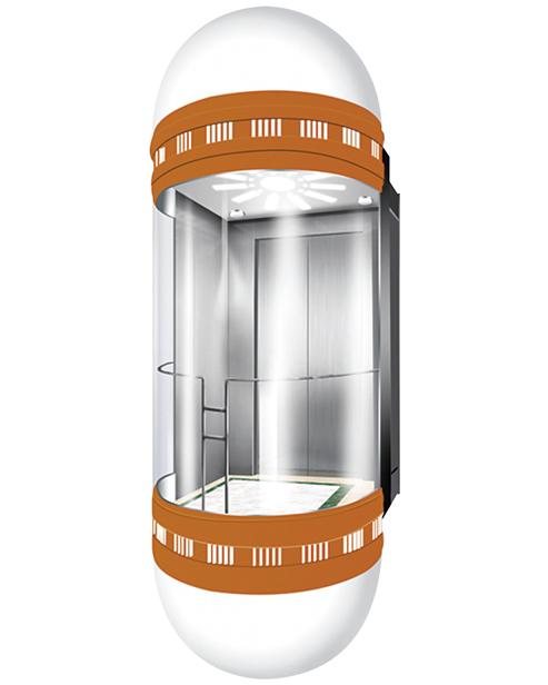 Panoramic Elevator  Car Decoration SSE-G005