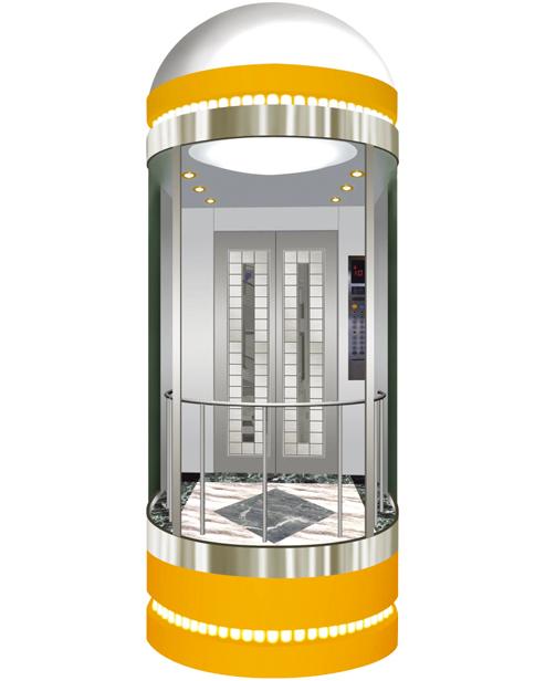 Panoramic Elevator  Car Decoration SSE-G008
