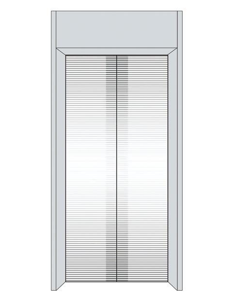 Landing Door Serie SSE-T010