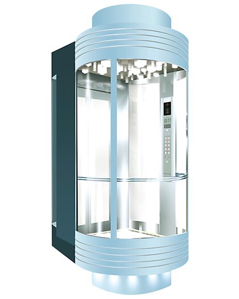 Panoramic Elevator  Car Decoration SSE-G012