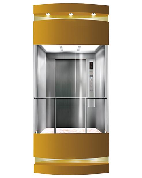 Panoramic Elevator  Car Decoration SSE-G014