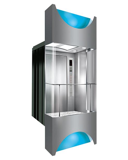 Panoramic Elevator  Car Decoration SSE-G016
