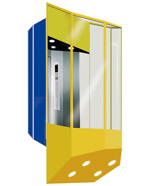 Panoramic Elevator  Car Decoration SSE-G019