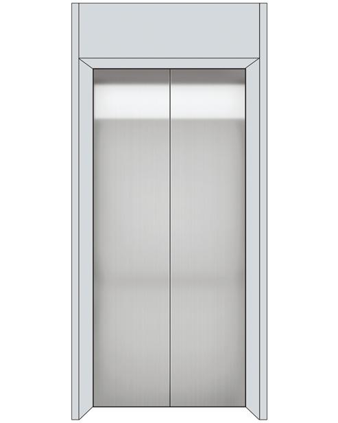 Landing Door Serie SSE-T02