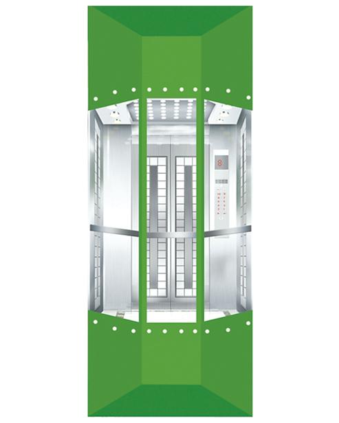 Panoramic Elevator  Car Decoration SSE-G020
