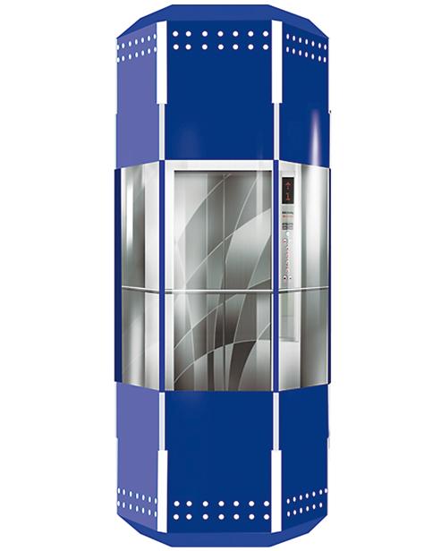 Panoramic Elevator  Car Decoration SSE-G021