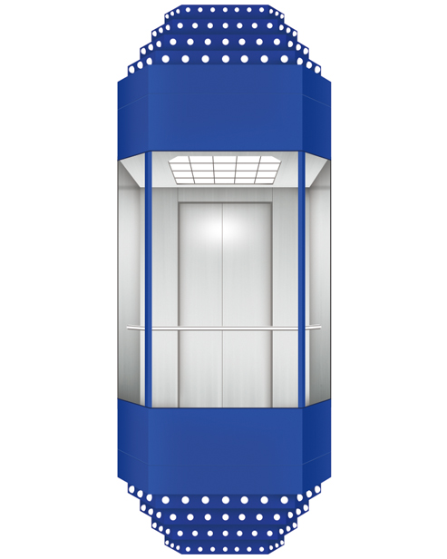 Panoramic Elevator  Car Decoration SSE-G022