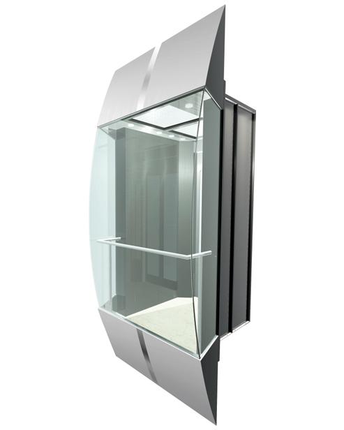 Panoramic Elevator  Car Decoration24