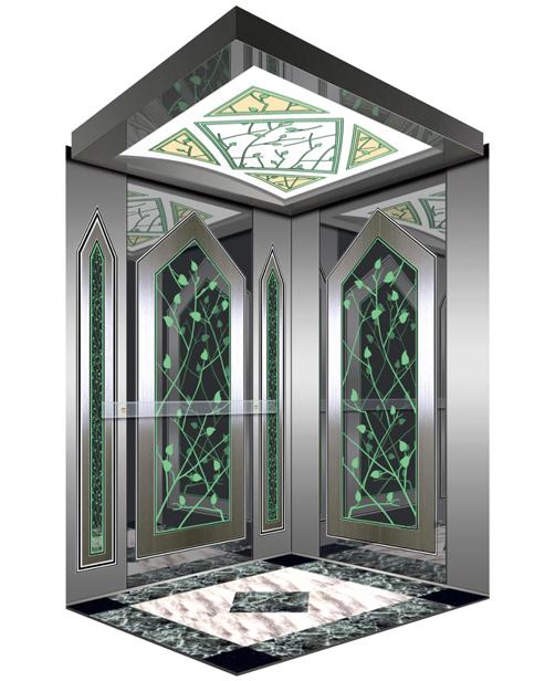 Passenger Elevator Car Decoration SSE-J031