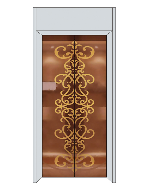 What are the commonly used materials for home elevators?