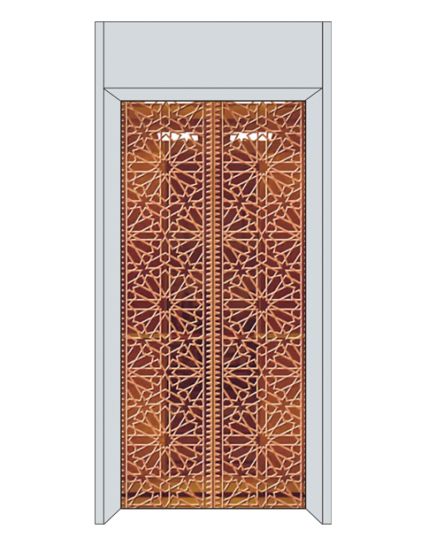 The way to open the door with elevator is divided into pull door and automatic door